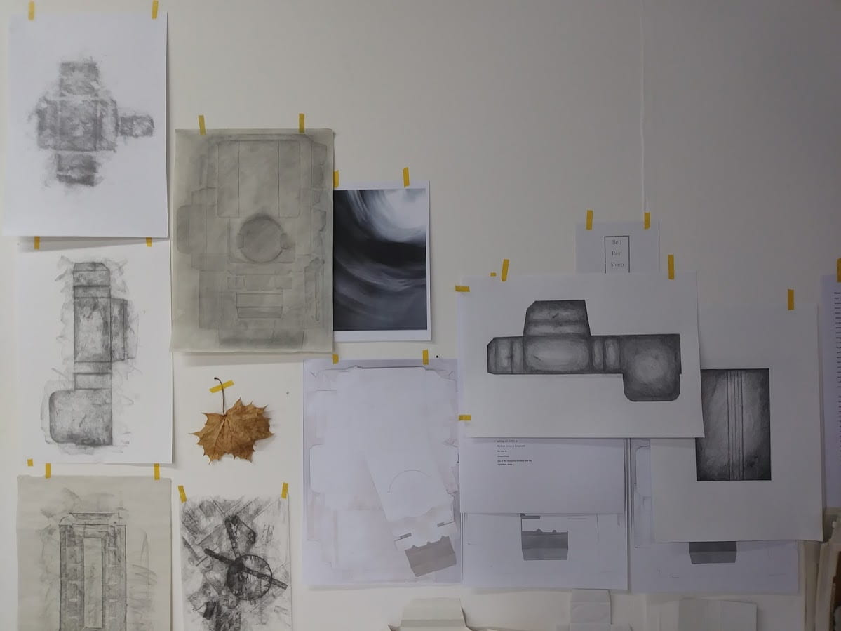 Exploring the undervalued. Drawing Layering Composing.