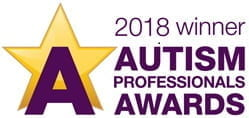 2018 winner of the Autism professional awards