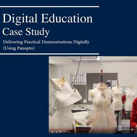 A front cover saying Digital Case study with a picture of a woman Below