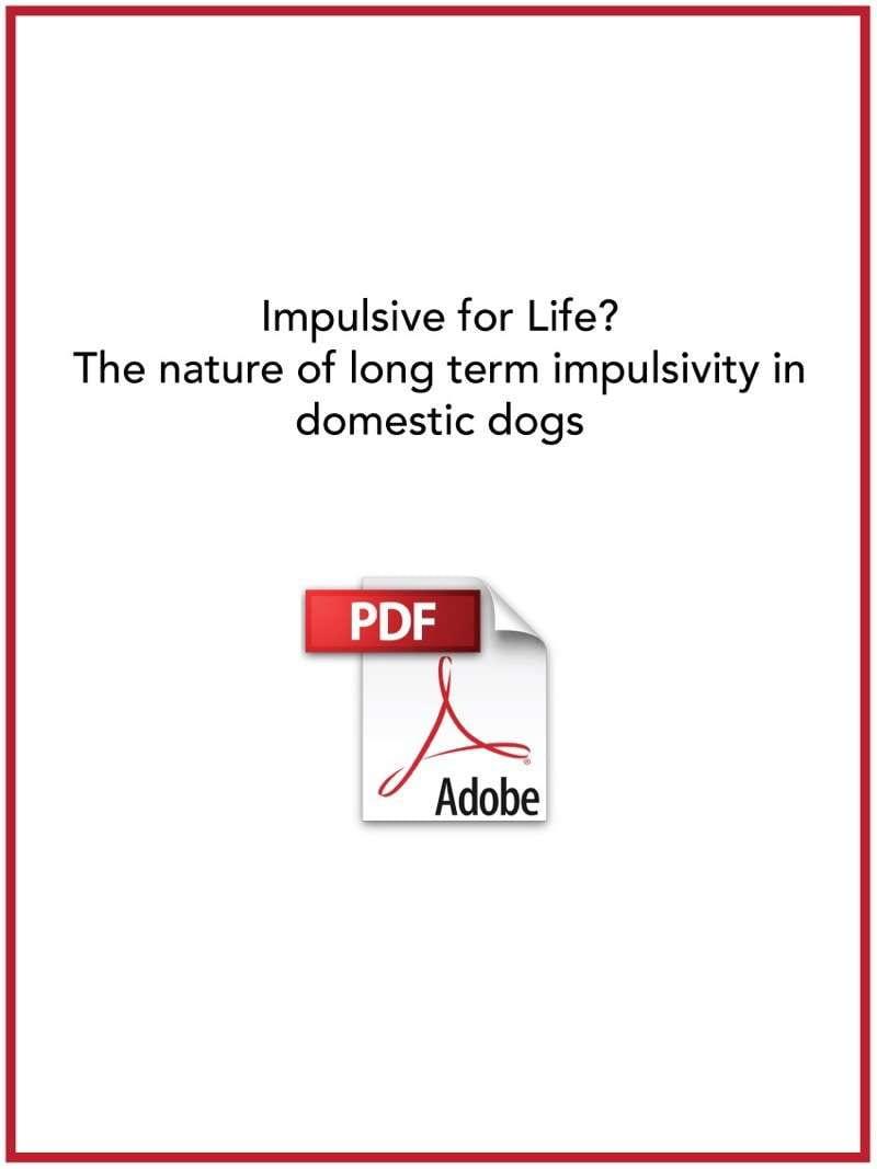 Impulsive for Life?