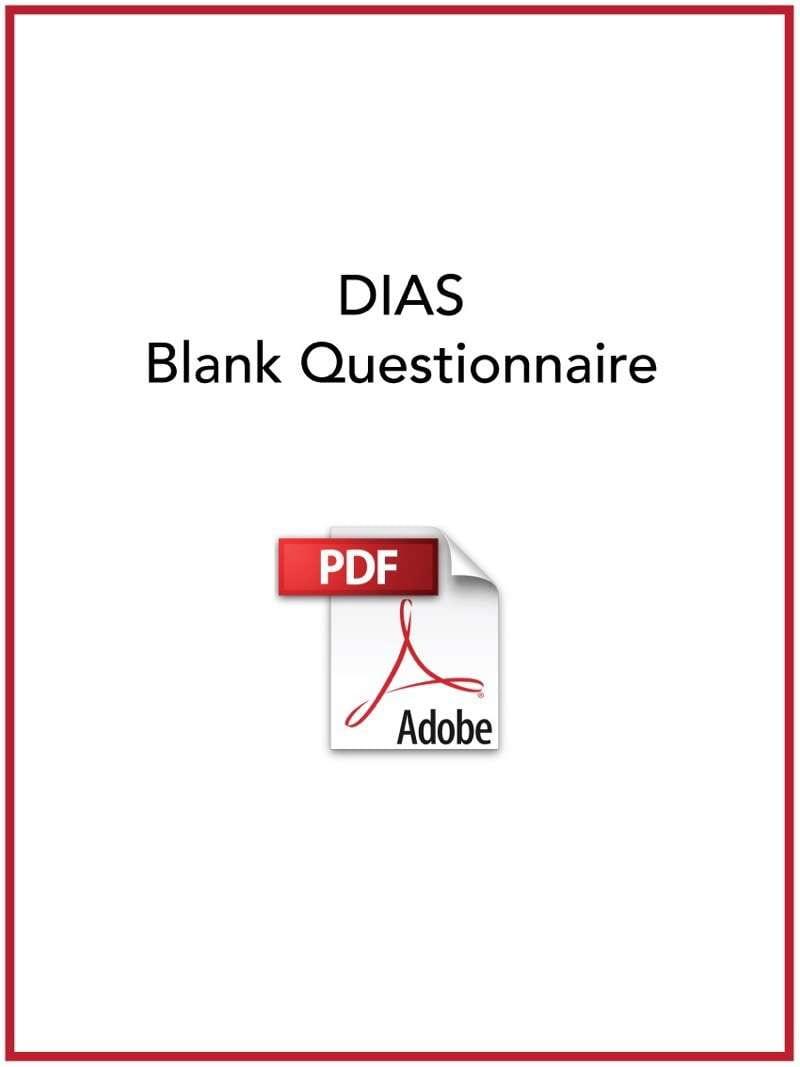 DIAS Blank Questionnaire