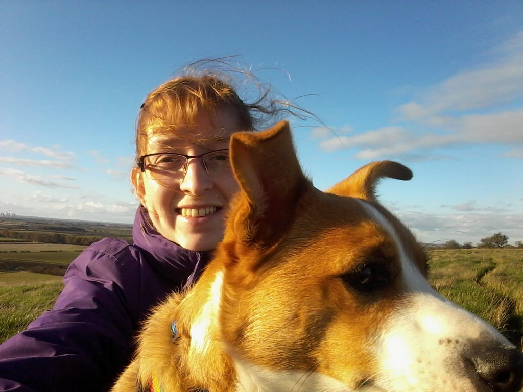 Bev and her dog