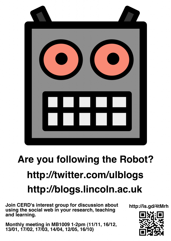 Are you following the robot?