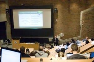 AAU auditorium teaching