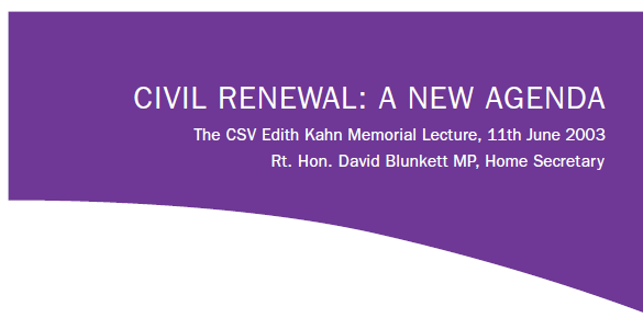 Civil Renewal