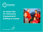 Action Plan for Community Empowerment 2007
