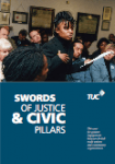 TUC Swords of justice and civic pillars