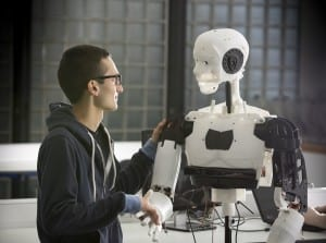 University of Lincoln 1 - MARC the 3D printed robot