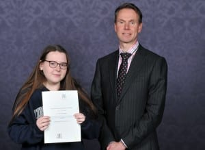 Zoe Martin VC Scholarship winner