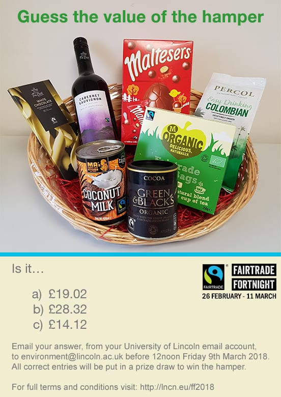 Fairtrade Competition Hamper