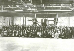 FWW aircraft factory workers