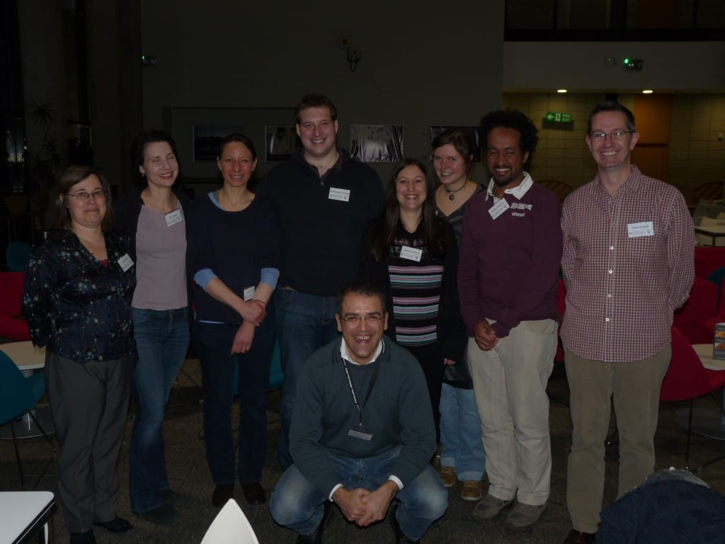 Members of the Barbary Macaque Project at the conference