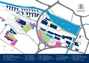 Campus Map - Parking Zones January 2017-01