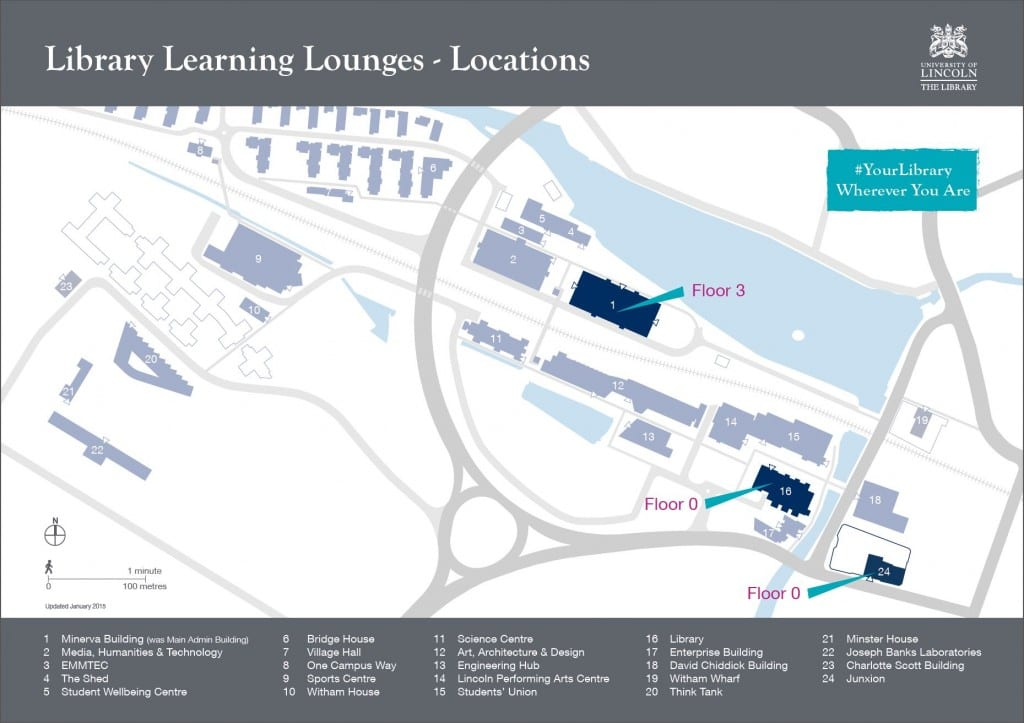 Library Learning Lounges