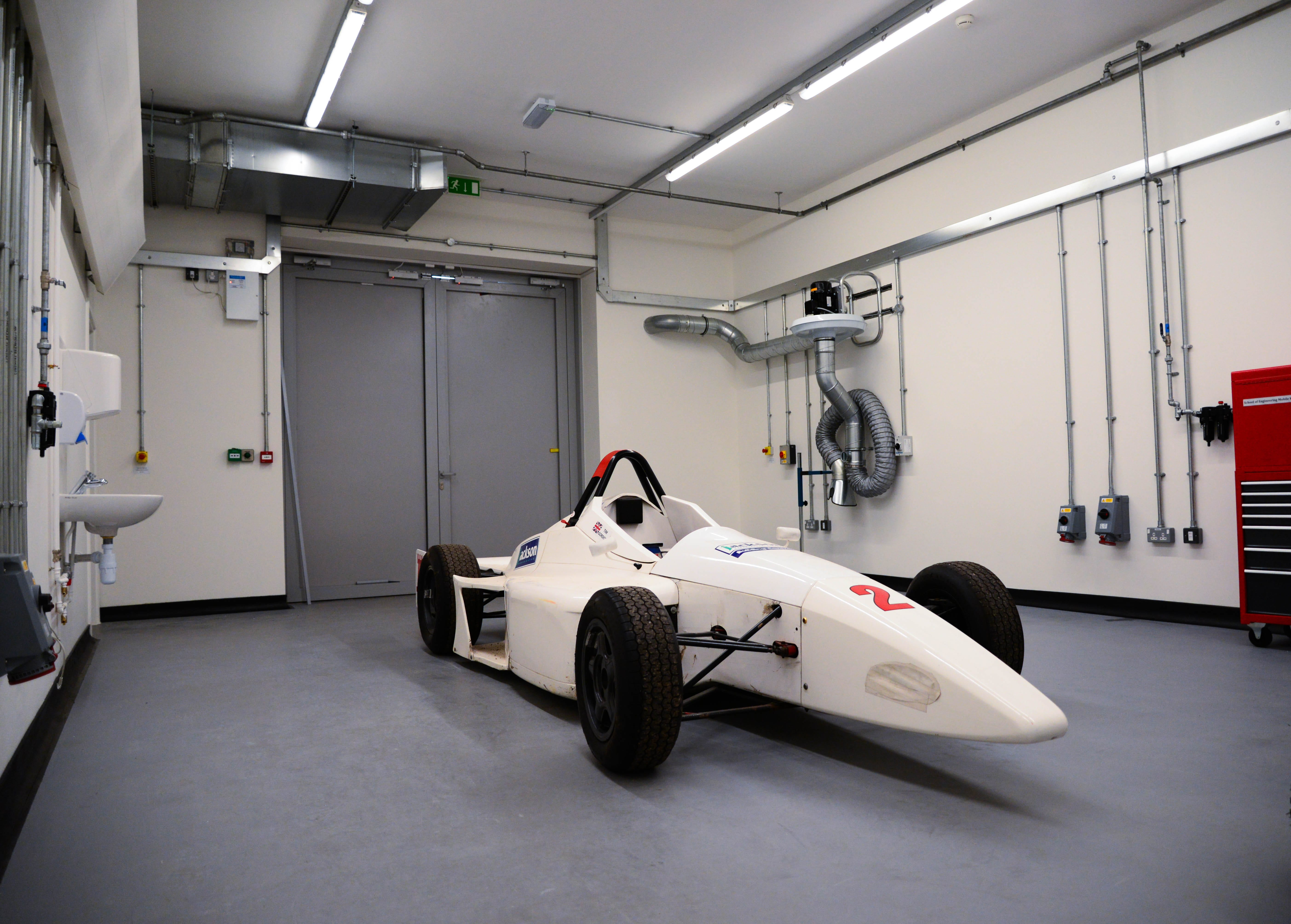 Image of a racing car