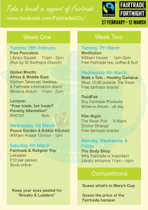 Fairtrade schedule SM