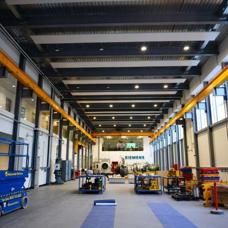 Image of a large industrial room