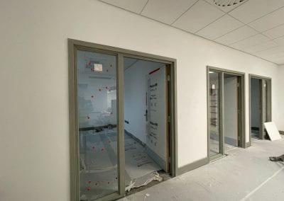Image of two doorways into rooms.