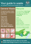 Courts and Cygnet Wharf Waste and Recycling
