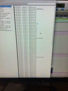 Shot of George File Folder