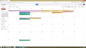 OG Productions Calendar 3 - Final Week