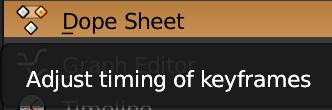 Dope Sheet