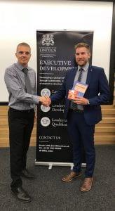 Andrew Turnbull winning the CMI Challenge