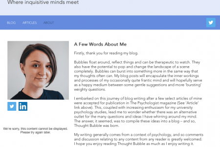 Maddi Pownall blog