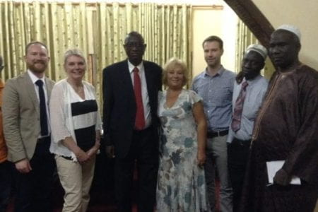Nathan Cooper in Gambia