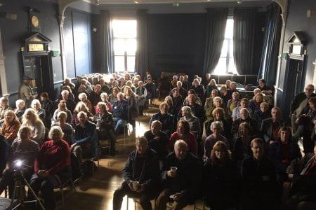 Lincoln Asylum talk