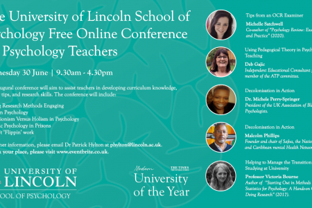 Psychology Teaching Conference 30th June