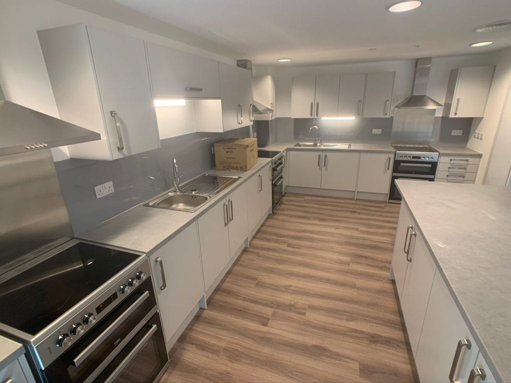 179 High Street new and unfurnished kitchen/diner