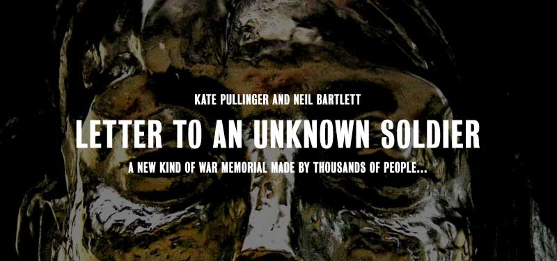 J. Chapman - letter to an unknown soldier