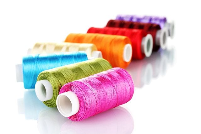 There are a multitude of colours that you can sew with