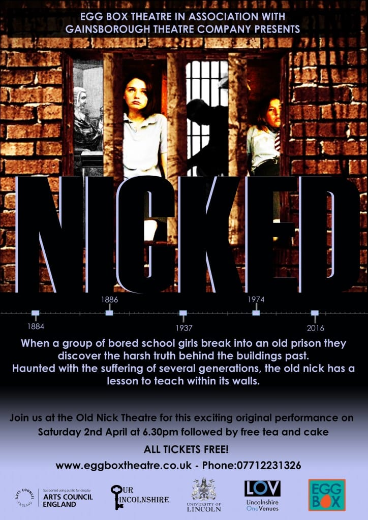 Egg Box - Nicked Poster Gainsborough Performance