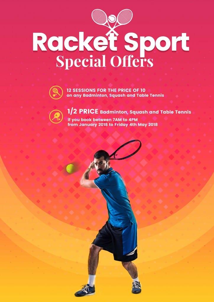 Racket offer Poster