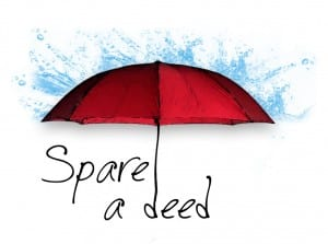 spare a deed logo