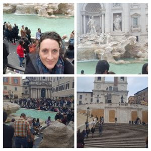 Fontana di Trevi and Spanish Steps