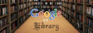 Google vs Library image