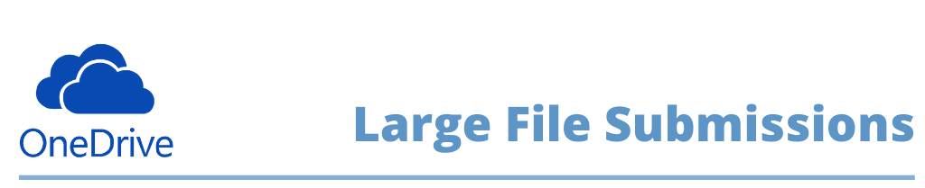 Large file submissions.