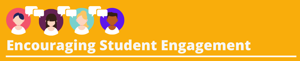 Image text [Encouraging Student Engagement]