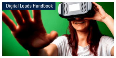 Image text: Digital Leads Handbook