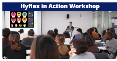 Image text: Hyflex in Action Workshop