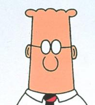 Dilbert... a nerd.