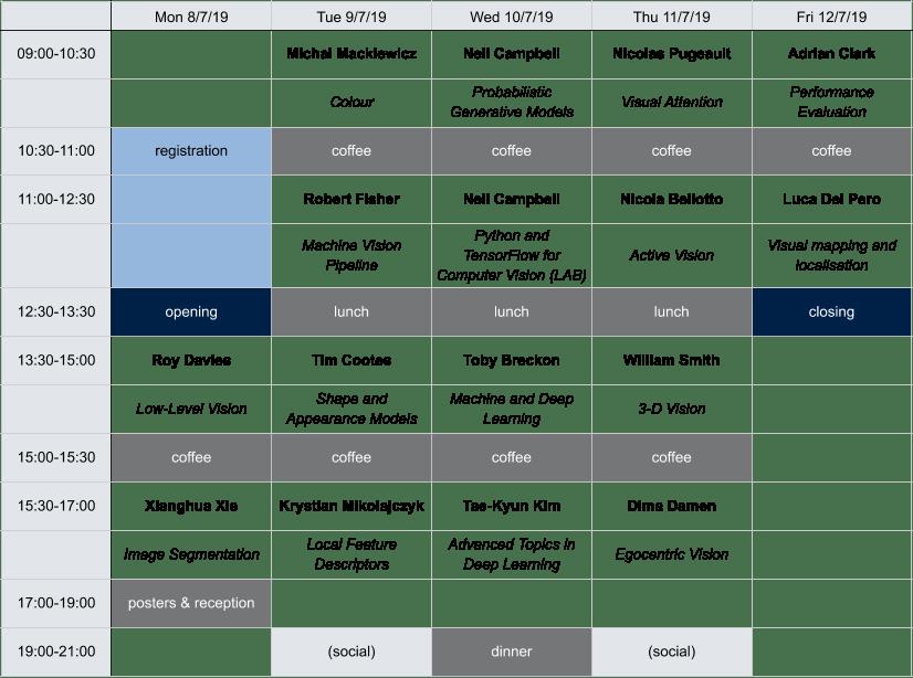 BMVA CVSS 19 Programme Final