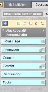 BB9 menu controls
