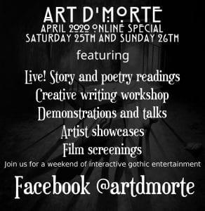 Art D'Morte Flyer