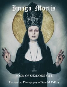 Magazine Cover for Volume 1 of Book of Shadows