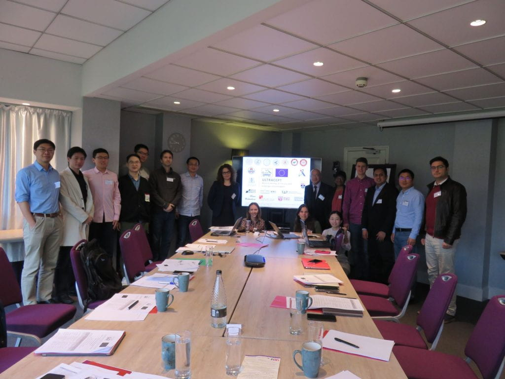 ULTRACEPT mid-term meeting held in Cambridge UK