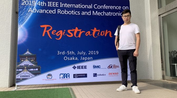 IEEE 4th International Conference on Advanced Robotics and Mechatronics (ICARM) July 2019